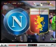 Napoli - Genoa 1-2